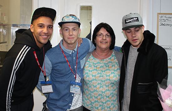 Boy band 'Race the Horizon' race to Irlam for special one